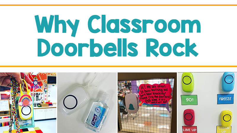 Why a Wireless Classroom Doorbell May Be Your Favorite Purchase Ever