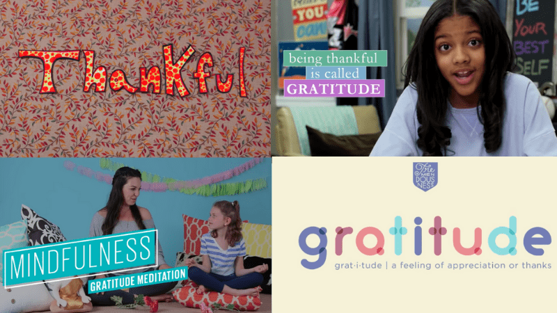 Gratitude Videos to Watch With Kids