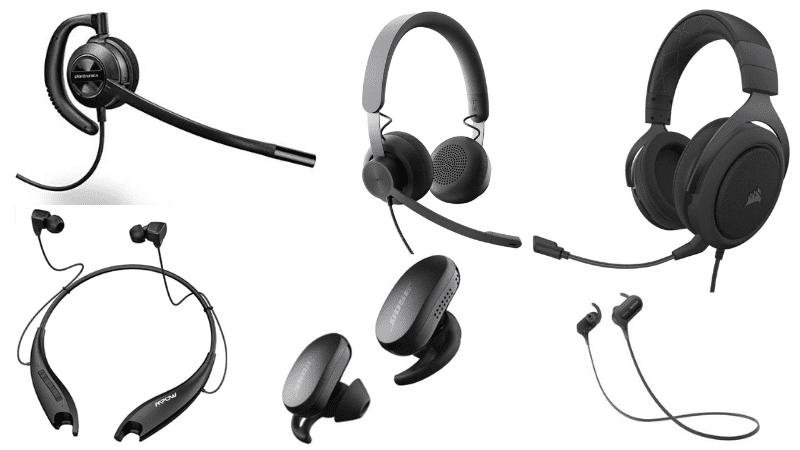 Black Headsets