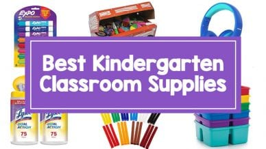 Best Kindergarten Classroom Supplies