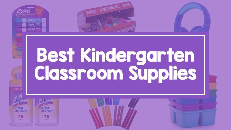 Kindergarten Supplies Feature