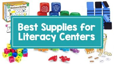 Best Literacy Centers Supplies