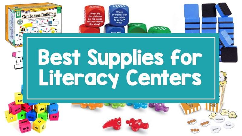 Best Literacy Centers Supplies