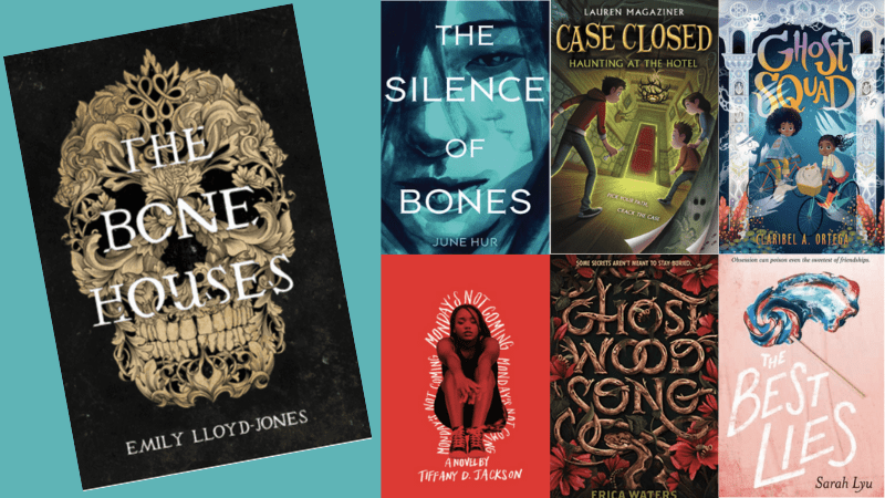 """""""The Bone Houses,"""" """"The Silence of Bones,"""" """"Case Closed,"""" """"Ghost Squad,"""" """"Ghost Wood Song,"""" and """"The Best Lies"""" Books."""