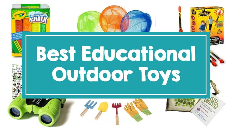 Best Outdoor Toys Chosen by Educators