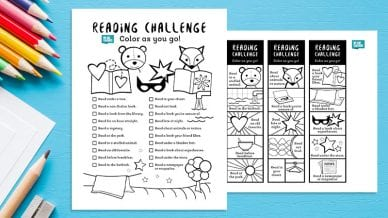 Reading Challenge Feature