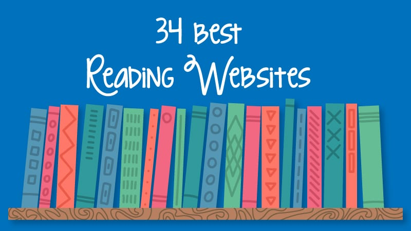 34 best reading websites for teachers and students