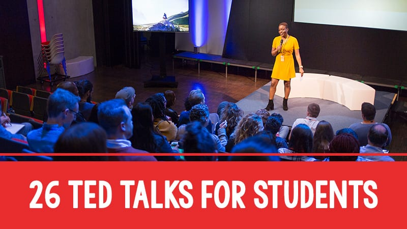 26 Must-Watch TED Talks to Spark Student Discussions
