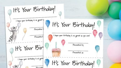 Birthday Certificates - Free Printable for Teachers - WeAreTeachers