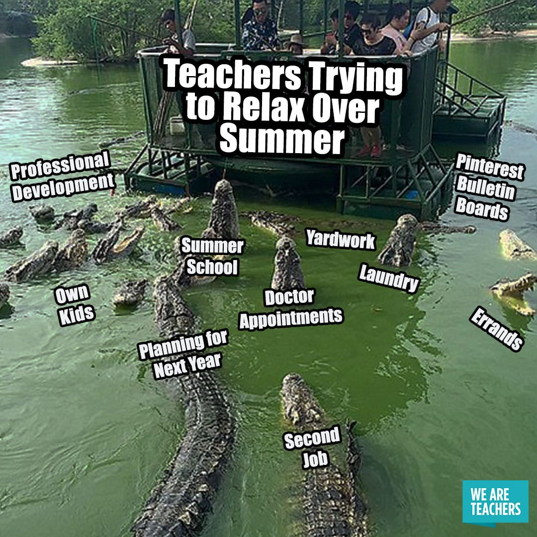 Teacher Summer Meme