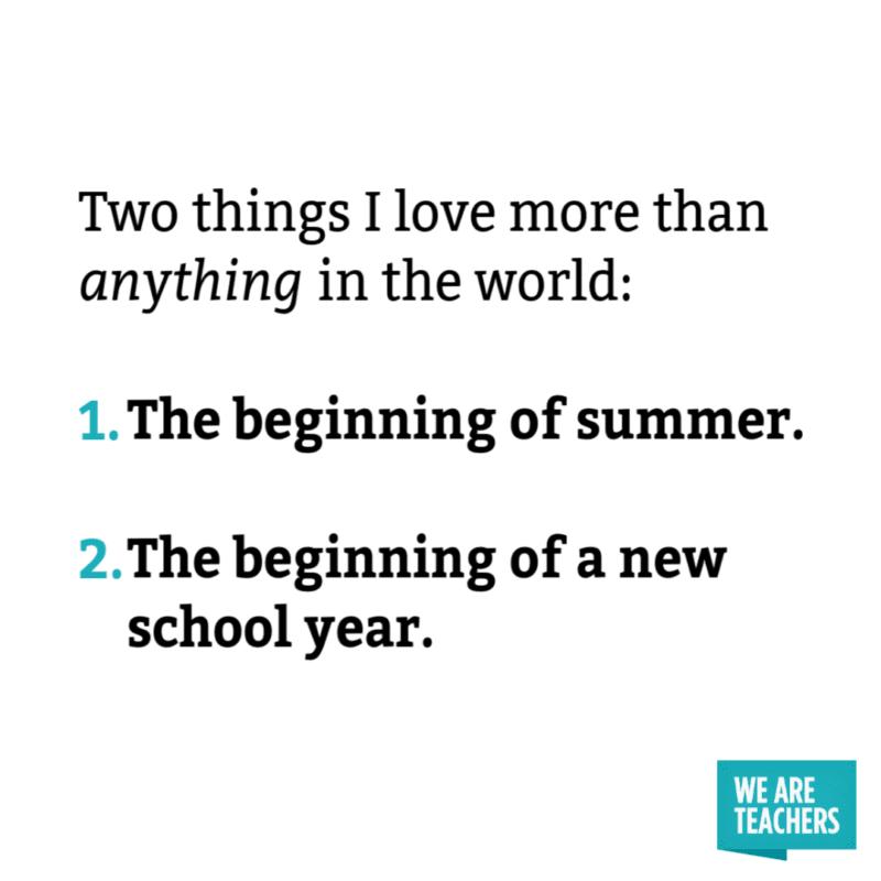 Summer Teacher Meme