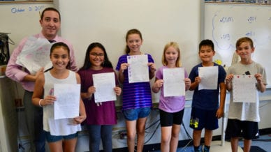 5th Graders Learn Life Lessons by Writing Letters to Cancer Survivors