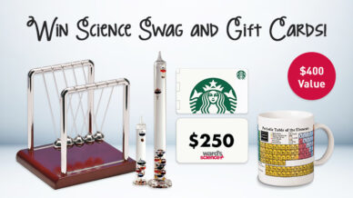 "Win a Science Teacher ""Keep Calm & Stay Caffeinated"" Survival Kit"