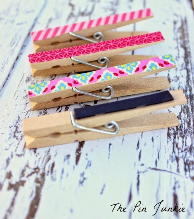 Washi Tape Ideas The Pin Junkie