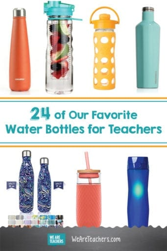 24 of Our Favorite Water Bottles for Teachers