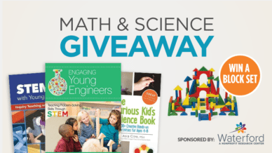 You could win the ultimate math and science giveaway. Enter today.
