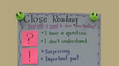Ways to Teach Close Reading