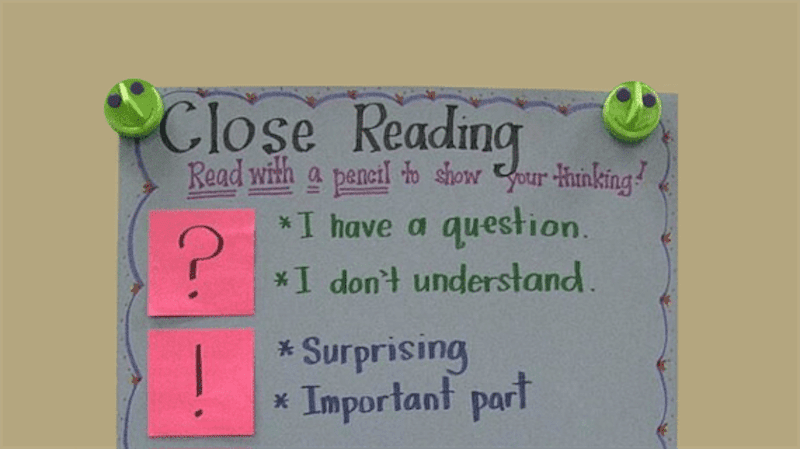 Ways to Teach Close Reading