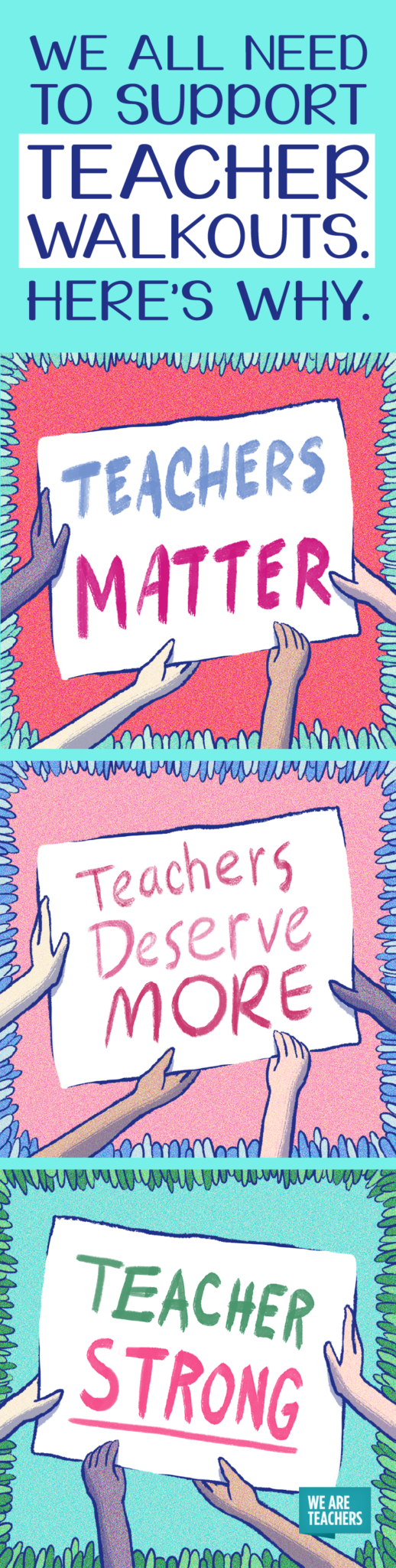 We all need to support teacher walkouts