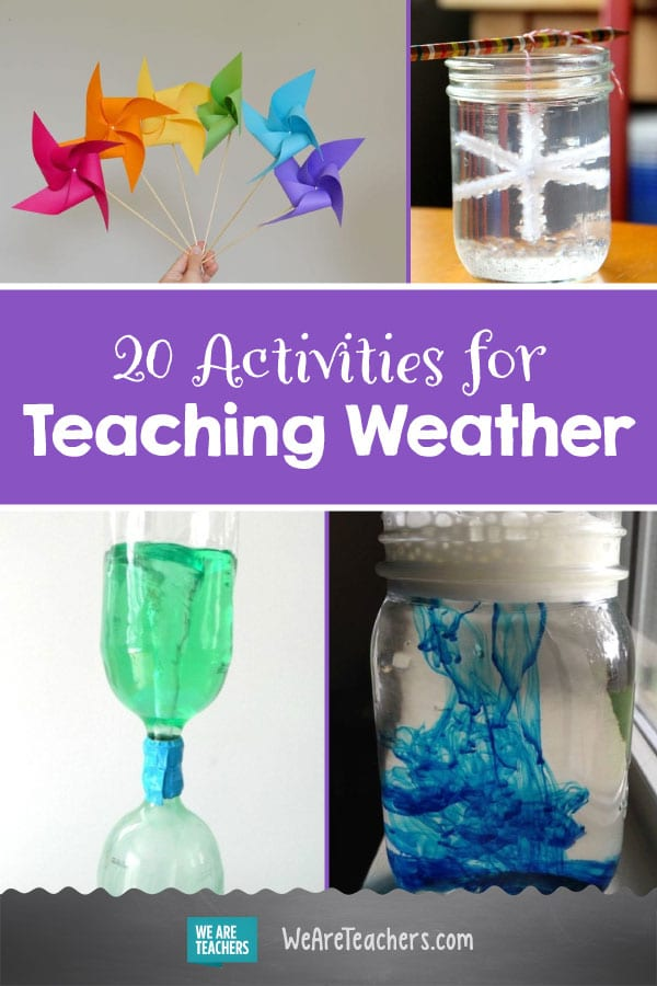 Tornadoes, Lightning, and Rainbows! 20 Activities for Teaching Weather