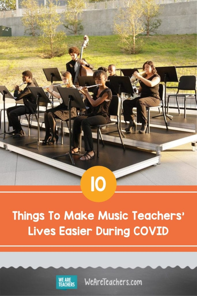 10 Things To Make Music Teachers' Lives Easier During COVID