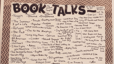 What Is a Book Talk