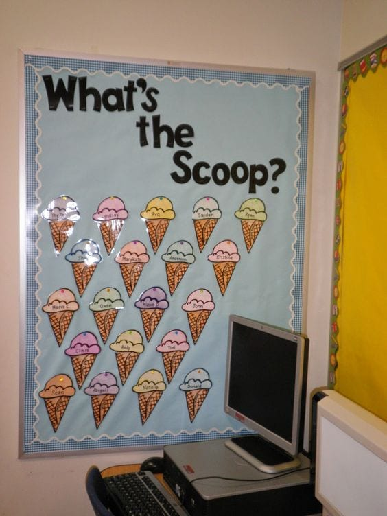 What's the scoop? job chart