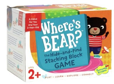 Best board games for preschoolers - Where's Bear