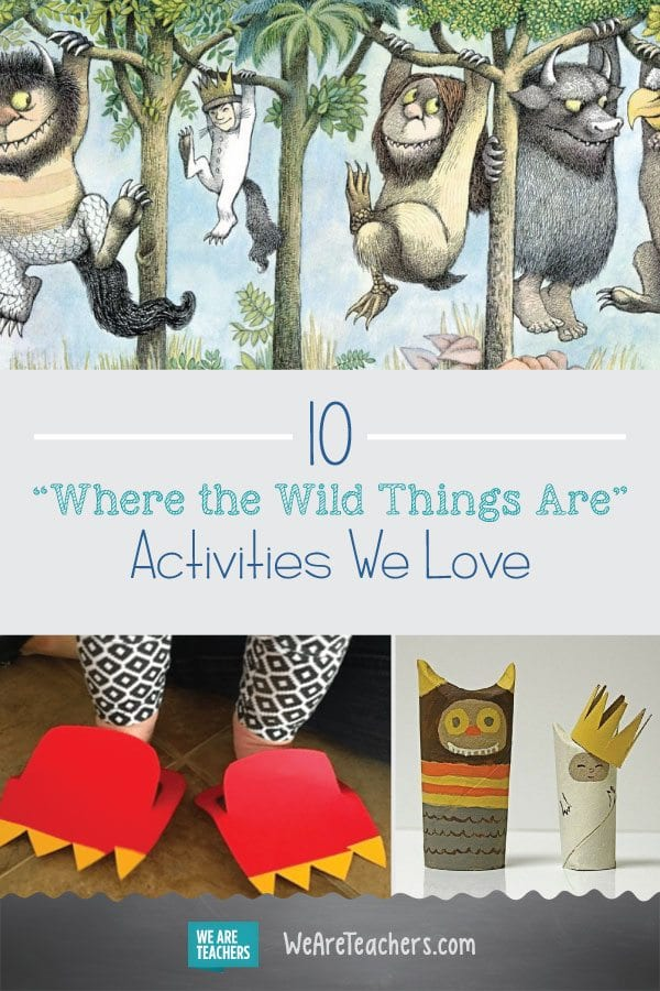 "10 ""Where the Wild Things Are"" Activities We Love"