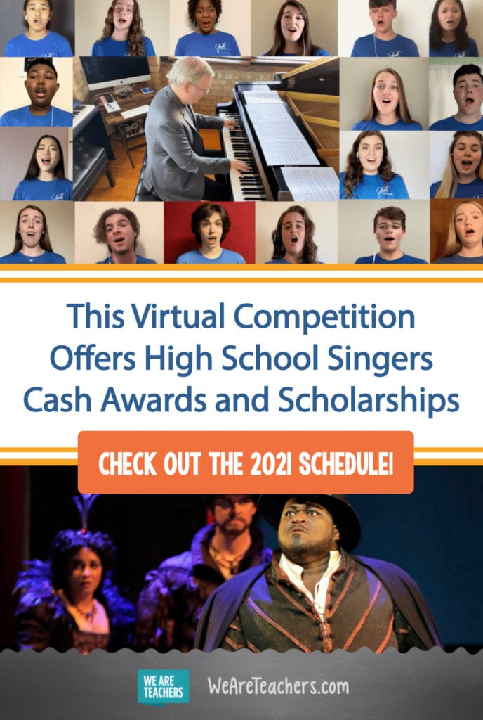 This Virtual Competition Offers High School Singers Cash Awards and Scholarships
