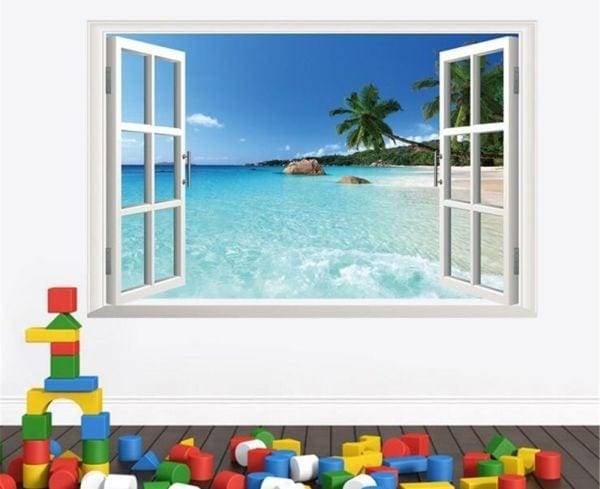 Windowless Classroom Window Stickers
