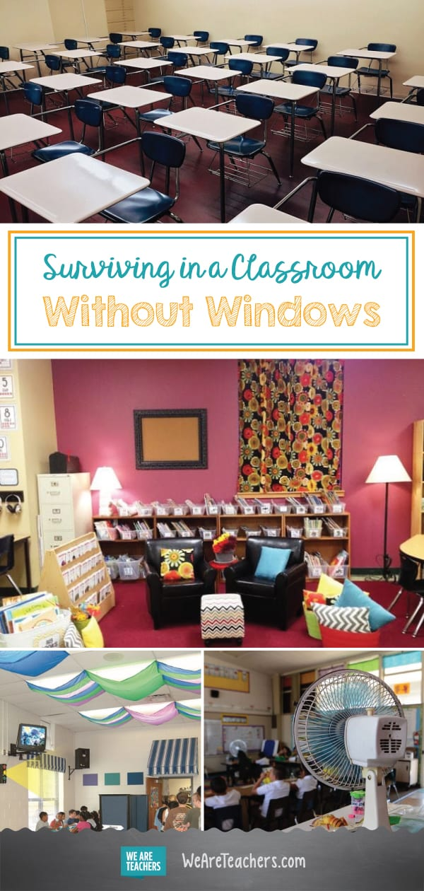 Best of WeAreTeachers HELPLINE: Surviving in a Classroom Without Windows