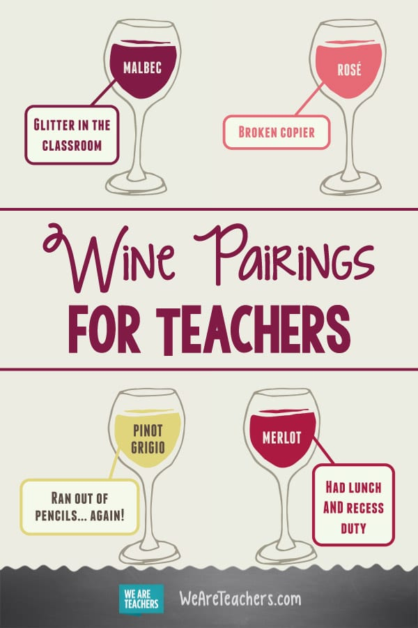 Teacher Appreciate Yourself With These Wine Pairings