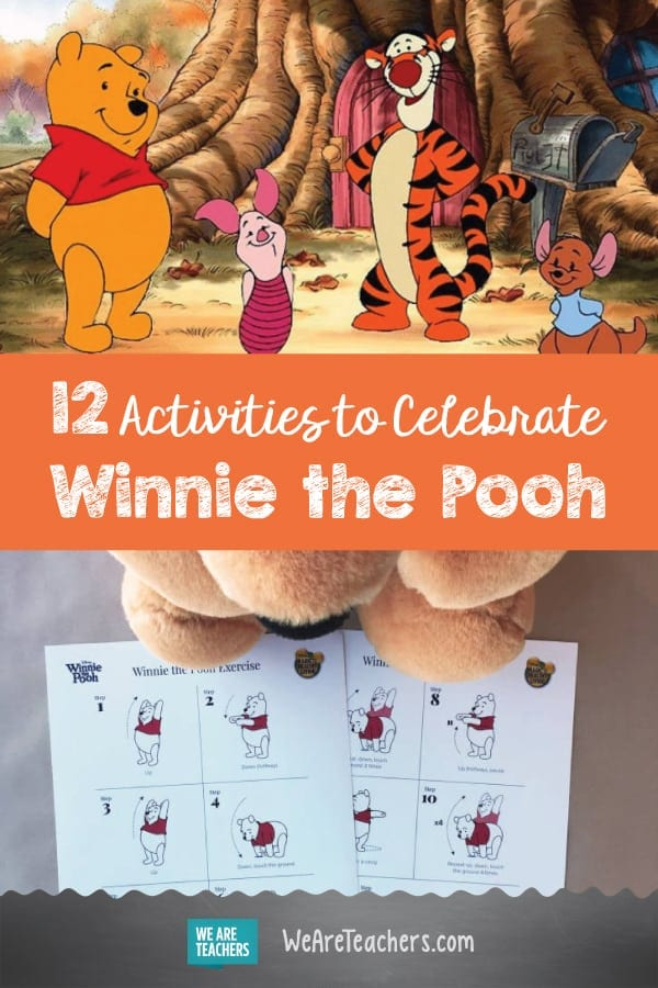 12 Activities to Celebrate Winnie the Pooh