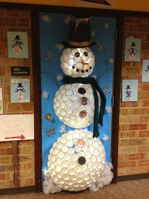 Winter Classroom Doors Janice McCarthy Pinterest-001