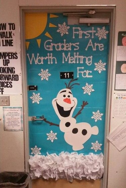 Winter Classroom Doors Lauren Martinez Pinterest