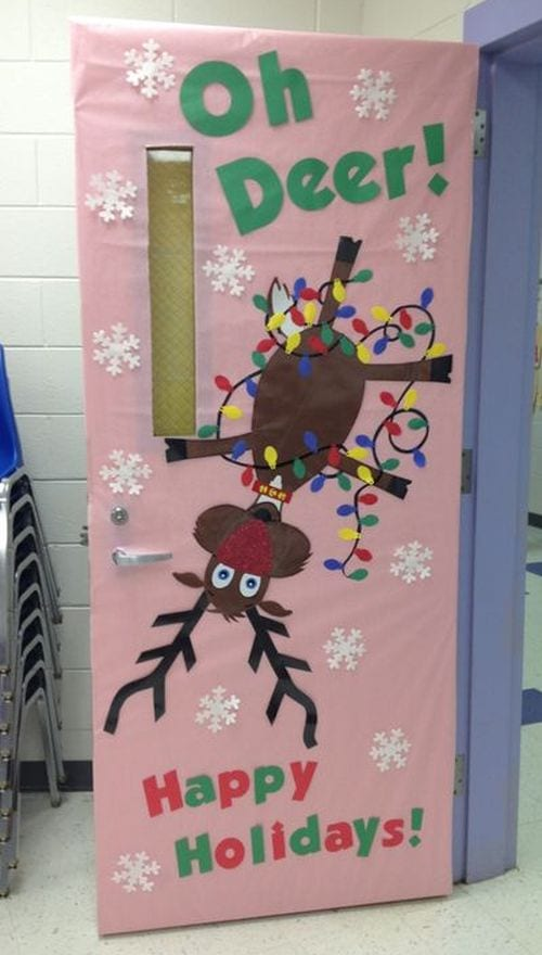 Winter Classroom Doors Rebecca Foster Pinterest