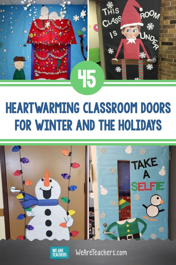 45 Heartwarming Classroom Doors for Winter and the Holidays