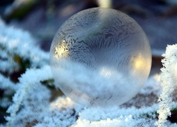 Winter Science Bubbles Pixabay