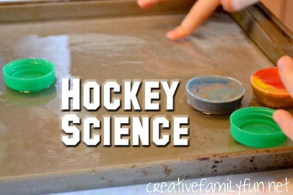 Winter Science Hockey Creative Family Fun