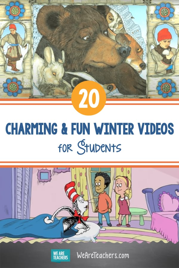20 Charming & Fun Winter Videos to Share with Students