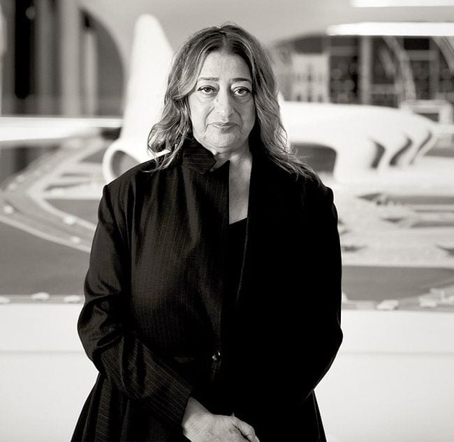 Women Scientists Zaha Hadid