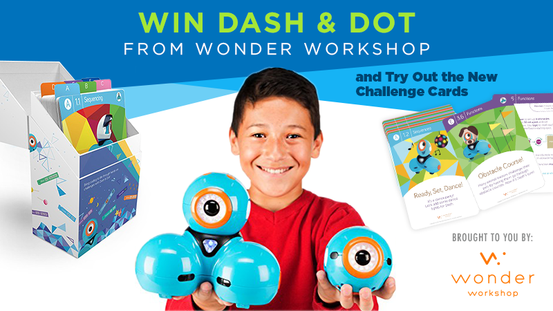 Win Dash Dot From Wonder Workshop Try Our New Challenge Cards