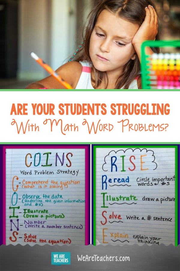 Are Your Students Struggling With Math Word Problems?