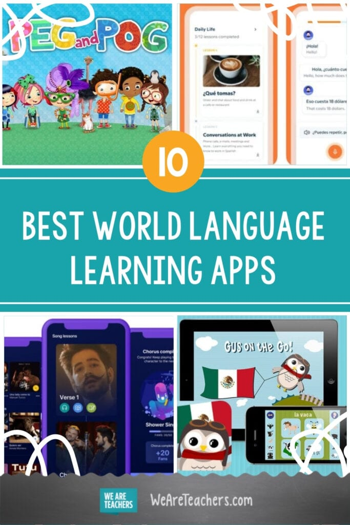 Top 10 Best World Language Learning Apps For Students and Schools