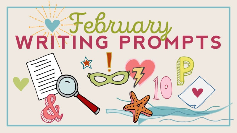 Writing Prompts Calendar