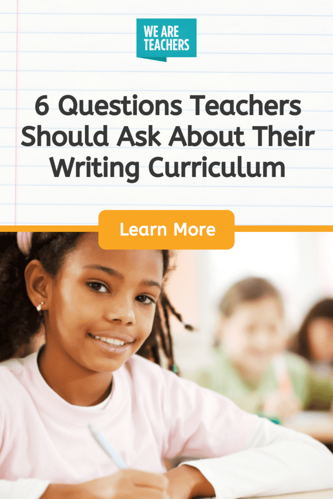 Writing Teachers: Time for a Back-to-School Check-Up