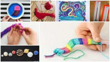 7 Images of Yarn Crafts