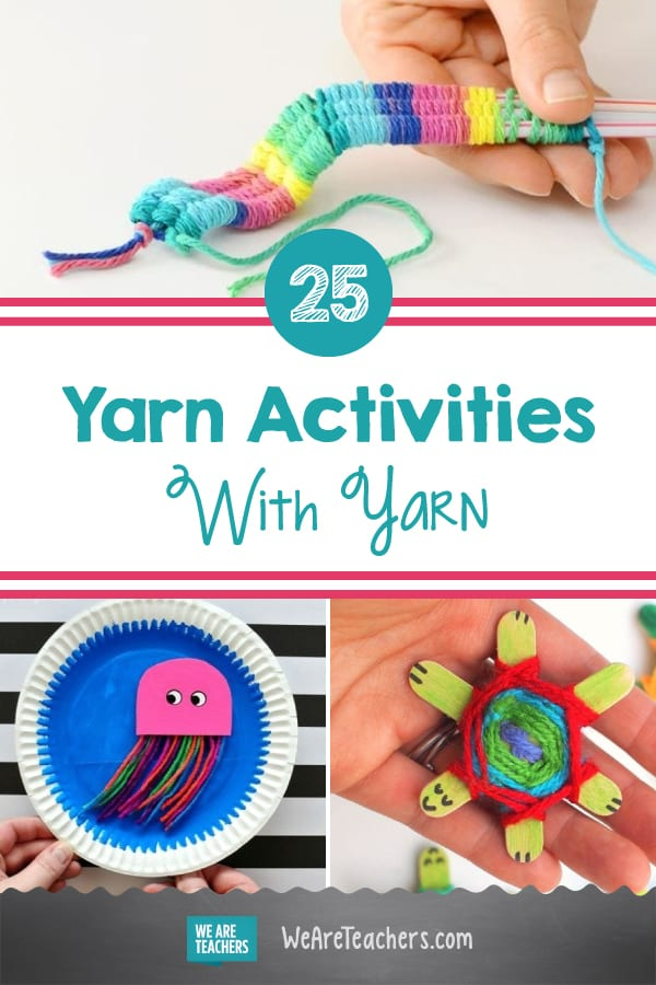 25 Creative Ways for Kids to Learn, Craft, and Play With Yarn