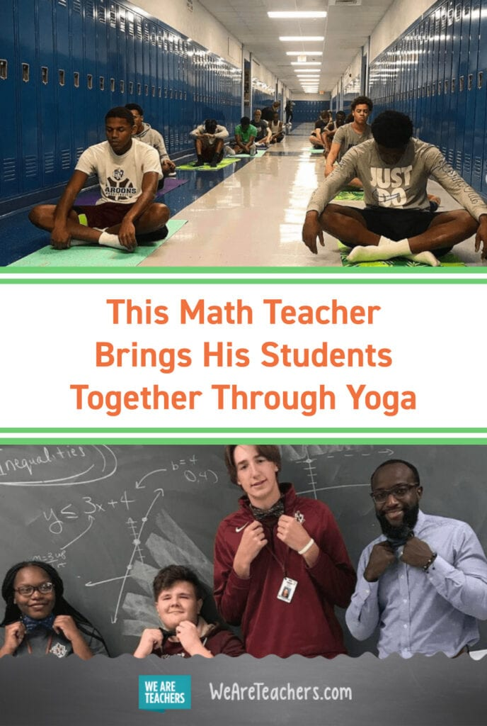 This Math Teacher Brings His Students Together Through Yoga